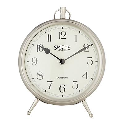 Lascelles Smith Mantel Clock, Chrome