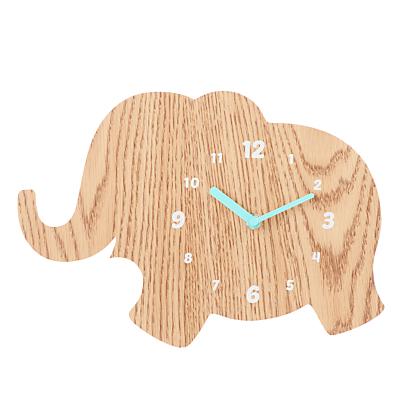 John Lewis Elephant Clock, Natural