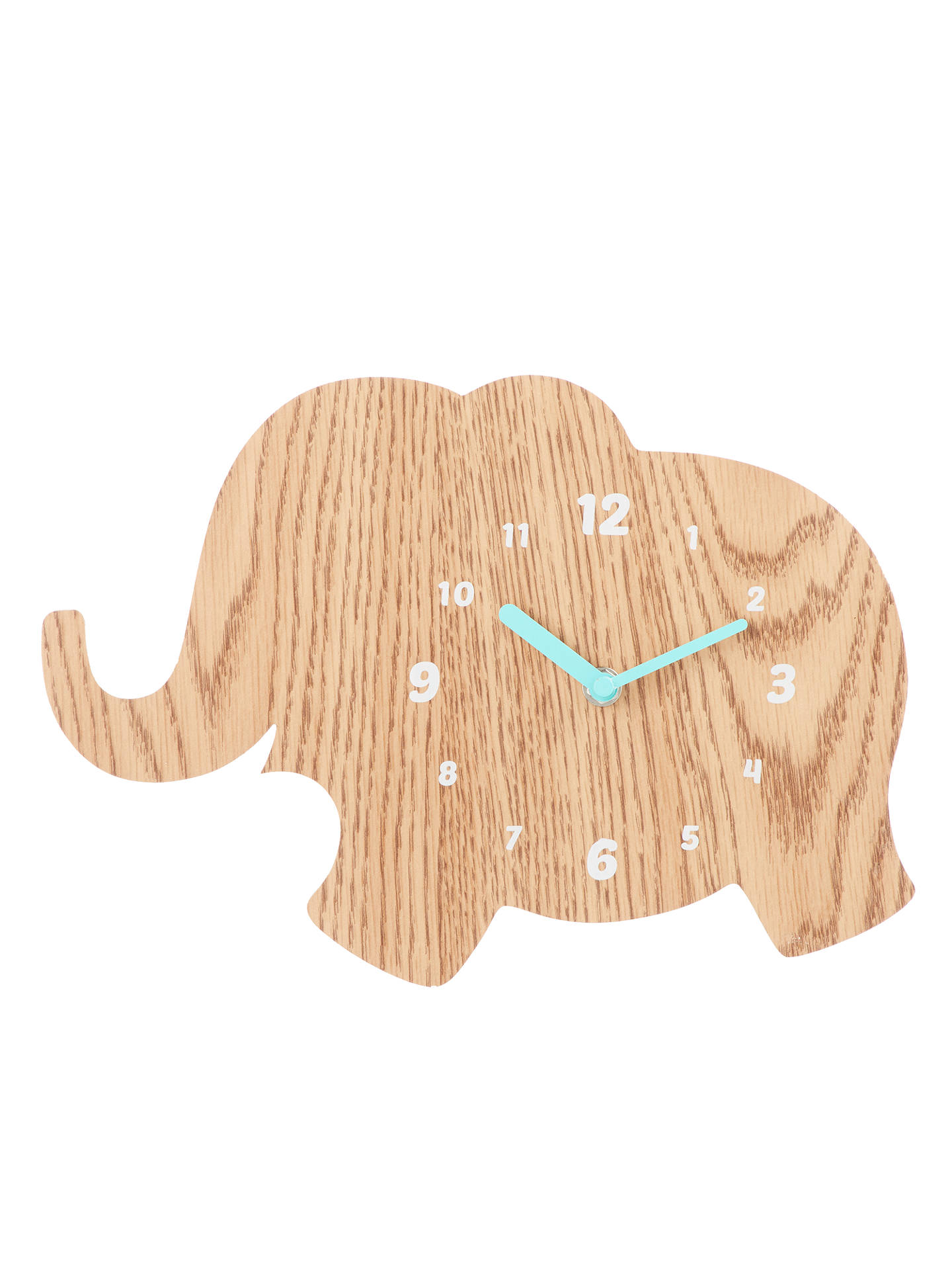 BuyJohn Lewis & Partners Elephant Clock, Natural Online at johnlewis.com