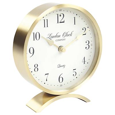 London Clock Company Arch Mantle Clock, Champagne
