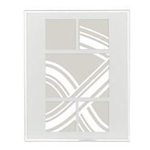 Buy John Lewis Daya Mini Multi-aperture Photo Frame, 5 Photo, Silver Online at johnlewis.com