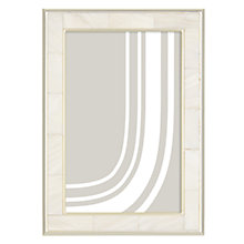 "Buy John Lewis Mother Of Pearl Photo Frame, 5 x 7"" (13 x 18cm), Silver Online at johnlewis.com"