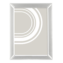 Buy John Lewis Simple Bevel Photo Frame, A4, Silver Online at johnlewis.com