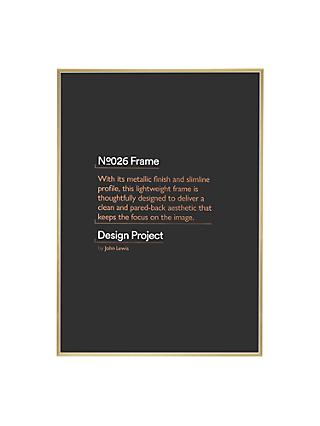 Design Project by John Lewis No.026 Metal Photo Frame, 50 x 70cm