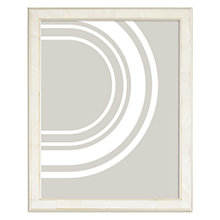 "Buy John Lewis Mother Of Pearl Photo Frame, 8 x 10"" (20 x 25cm), Silver Online at johnlewis.com"