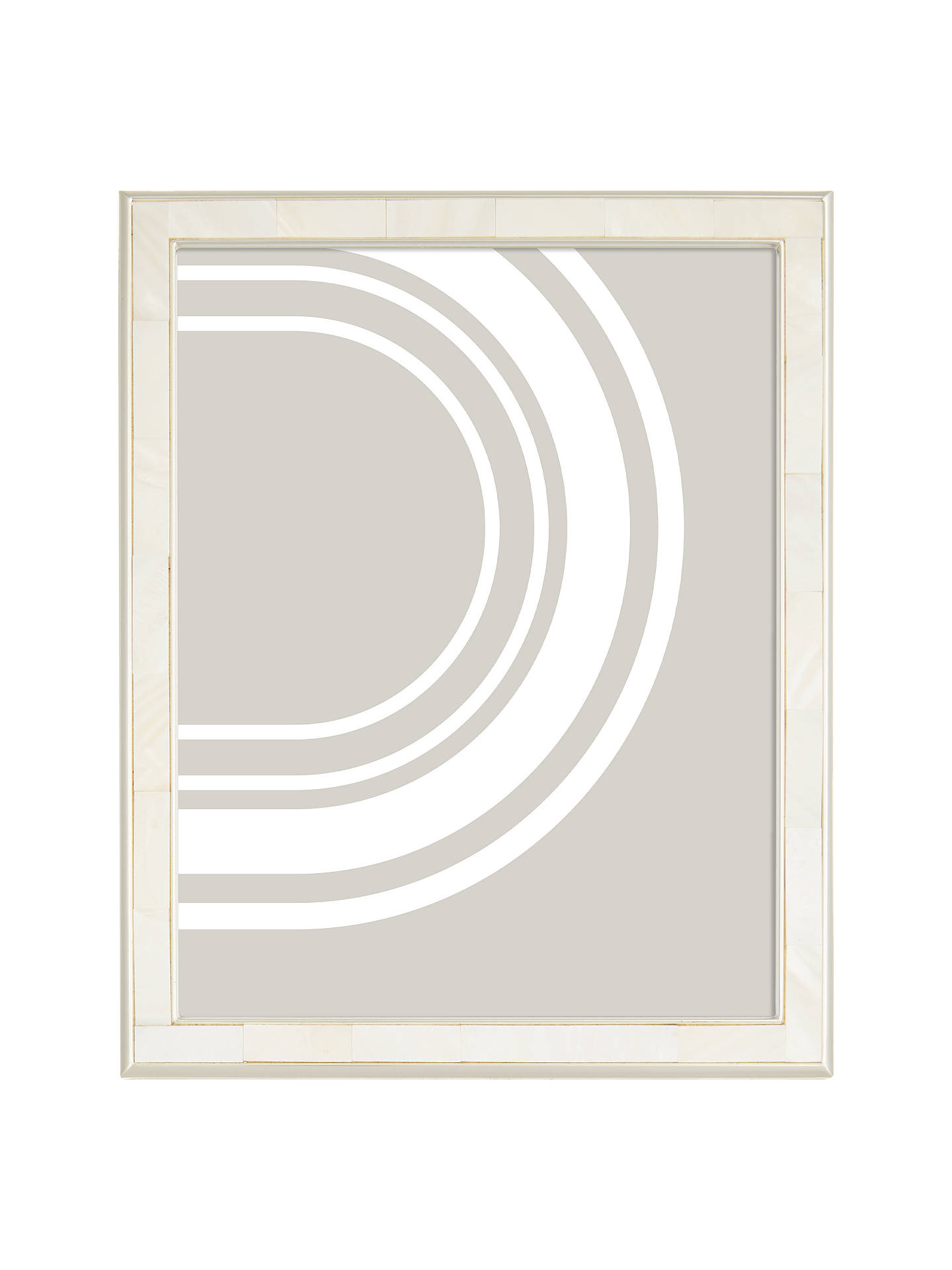 John Lewis Partners Mother Of Pearl Photo Frame 8 X 10 20 X