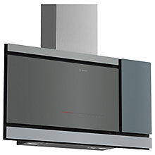 Buy Bosch DWF97MS70B Chimney Cooker Hood, Grey Online at johnlewis.com