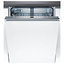 Buy Bosch SMV46IX00G Integrated Dishwasher, Brushed Steel Online at johnlewis.com