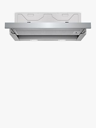 Siemens LI64MA530B 60cm Telescopic Cooker Hood, A Energy Rating, Silver