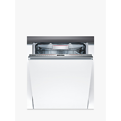 Bosch SMV68TD06G Integrated Dishwasher, Stainless Steel