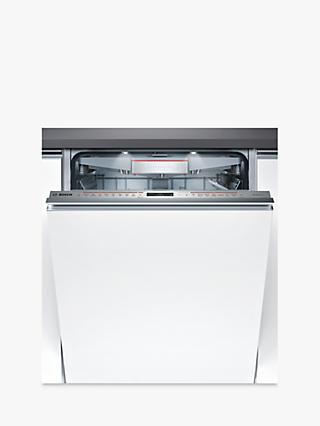 Bosch SMV68TD06G Integrated Dishwasher with Home Connect, Stainless Steel