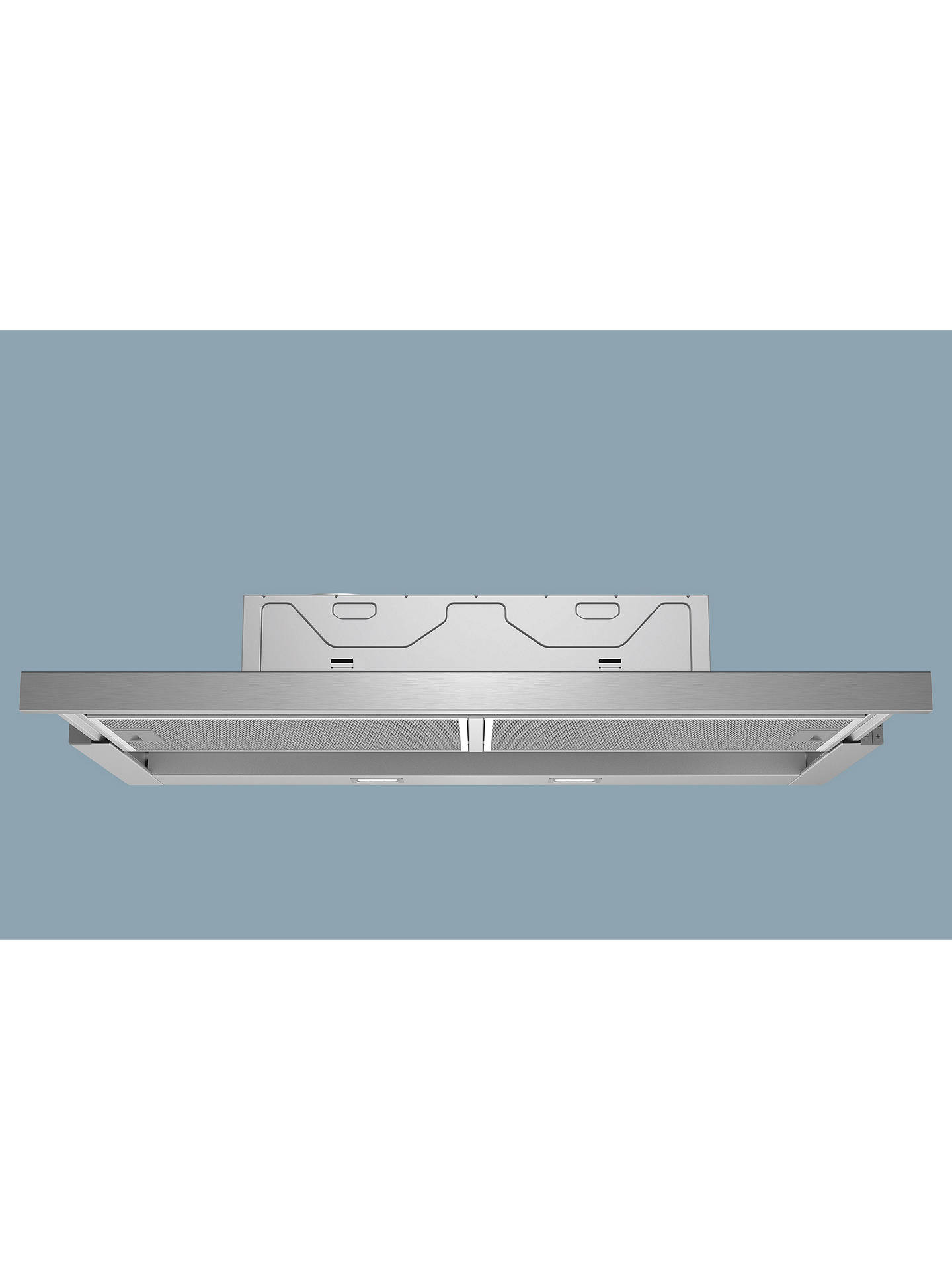 BuySiemens iQ300 LI94MA530B Integrated Telescopic Cooker Hood, Silver Online at johnlewis.com