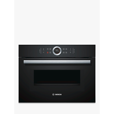 Image of Bosch CMG633BB1B Black Electric Compact oven with microwave