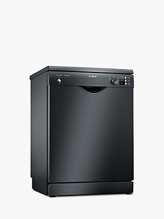 Bosch SMS25AB00G Freestanding Dishwasher, Black