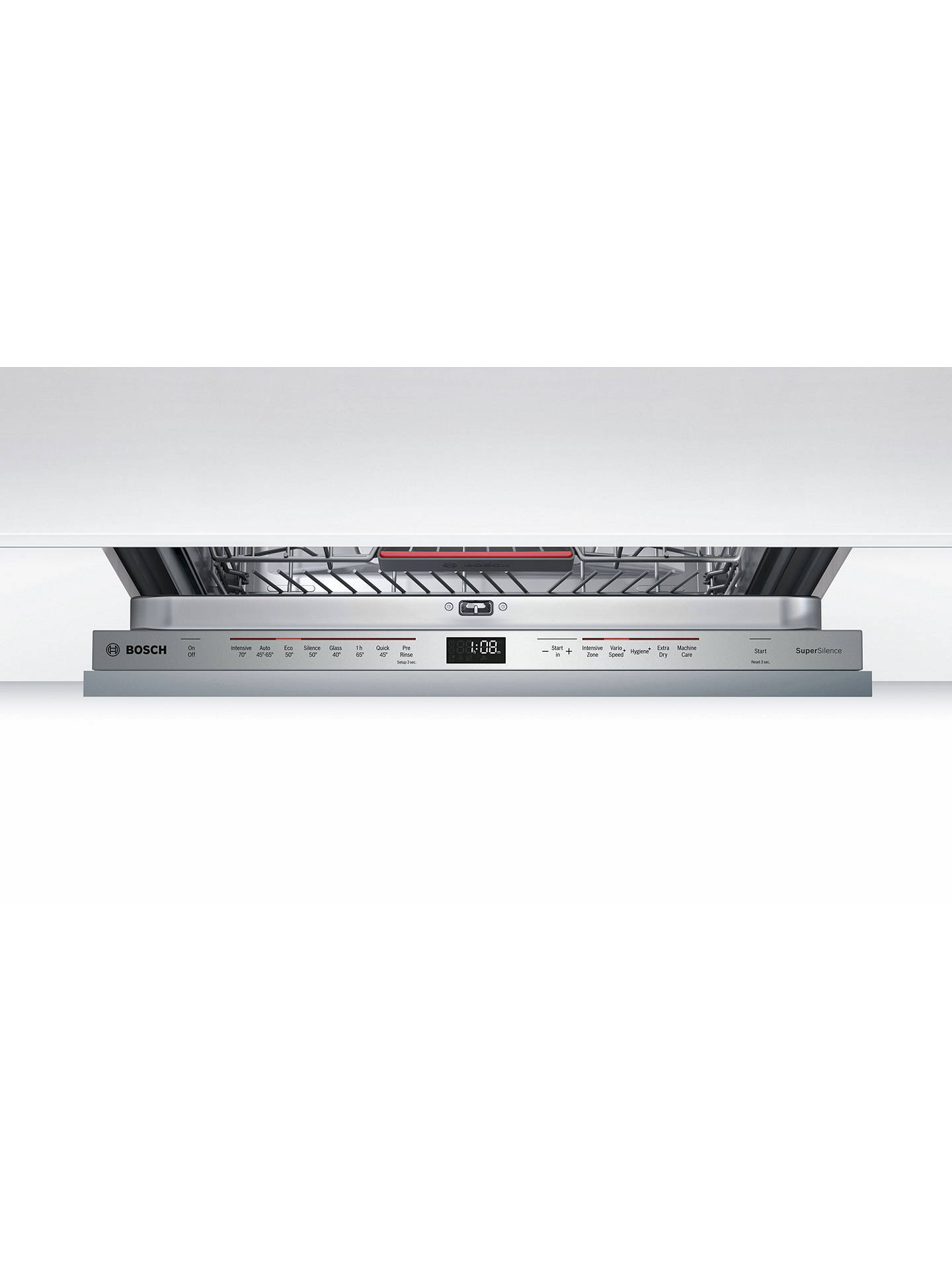 BuyBosch SMV68MD02G Integrated Dishwasher Online at johnlewis.com