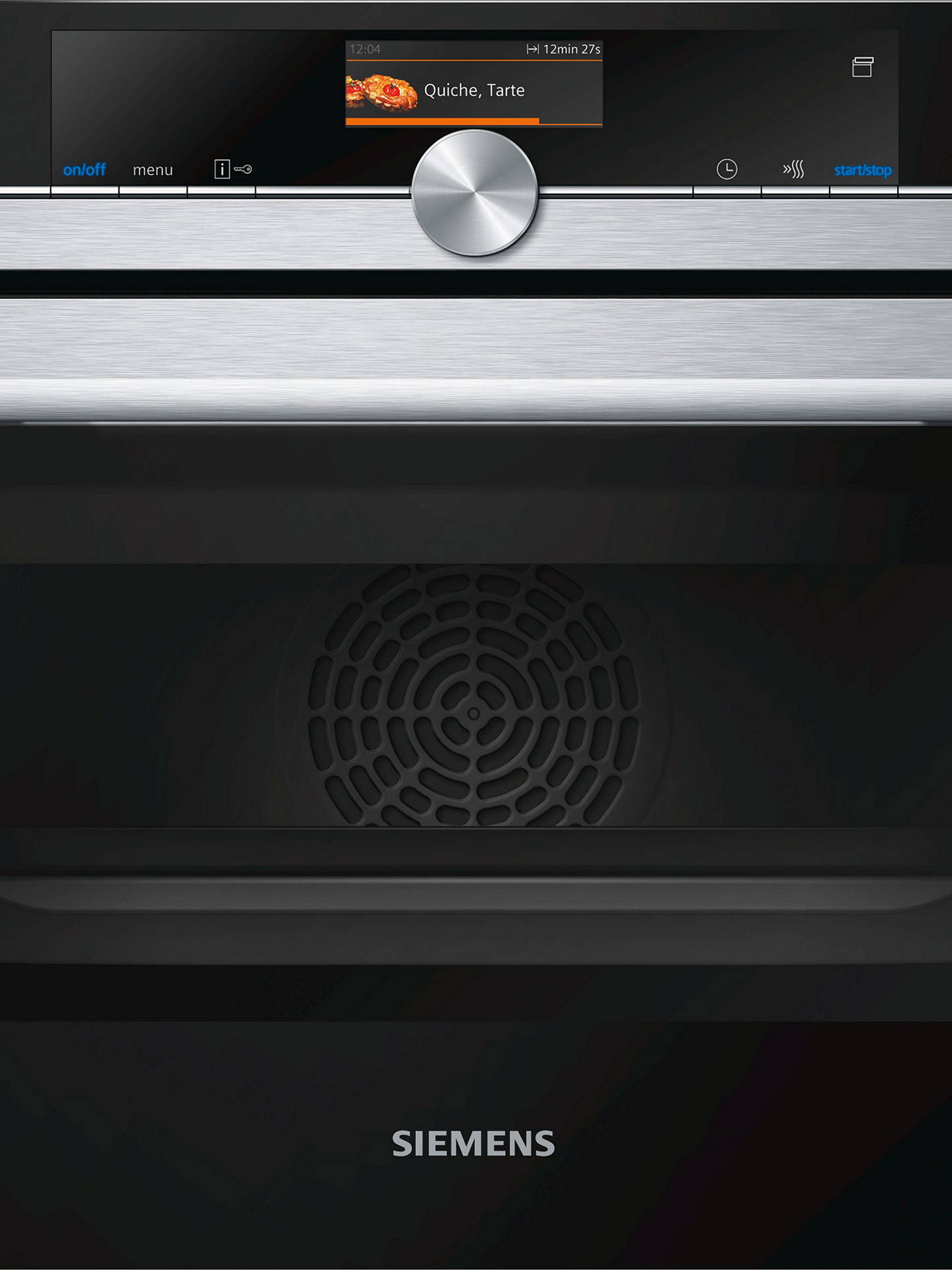 BuySiemens CS656GBS6B Built-In Single Oven with Full Steam, Stainless Steel/Black Online at johnlewis.com