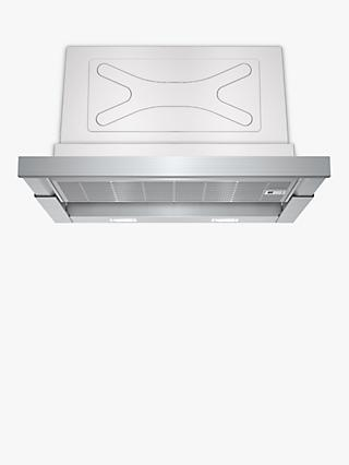 Siemens LI67SA560B 60cm Telescopic Cooker Hood, B Energy Rating, Stainless Steel