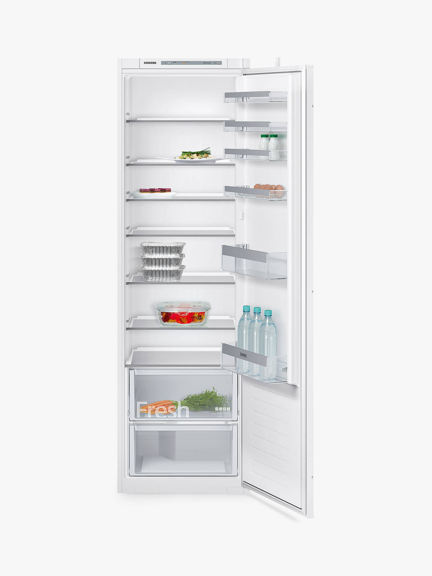 BuySiemens KI81RVS30G Integrated Fridge, A++ Energy Rating, 54cm Wide, White Online at johnlewis.com