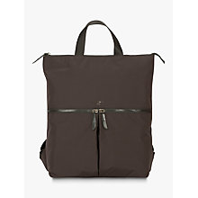 "Buy Knomo Reykjavik Tote Backpack for 15"" Laptops, Black Online at johnlewis.com"