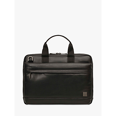 Image of Knomo Foster Leather Briefcase for 14 Laptops