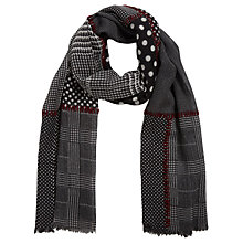 Buy Gerard Darel Edith Scarf, Grey Online at johnlewis.com