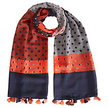 Buy White Stuff Spot To Spot Scarf, Mutli Online at johnlewis.com