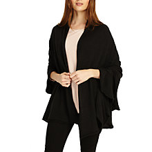 Buy Phase Eight Lowri Metallic Frill Wrap Online at johnlewis.com