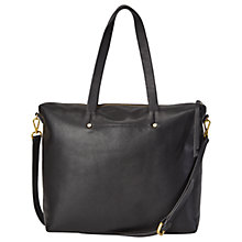 Buy White Stuff Jamie Work Bag, Black Online at johnlewis.com