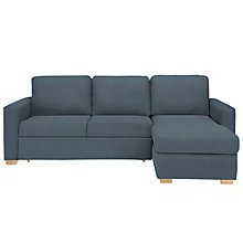 Buy John Lewis Sacha Sofa Bed with Straight Arm, Light Leg Online at johnlewis.com