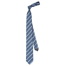 Buy HUGO by Hugo Boss Micro Jacquard Stripe Silk Tie Online at johnlewis.com