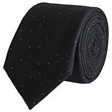 Buy Reiss Stern Silk Tie, Navy Online at johnlewis.com