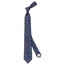 Buy Thomas Pink Owl Branch Tie, Navy/Pink Online at johnlewis.com