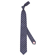 Buy Thomas Pink Woven Alburn Tie, Navy/Pink Online at johnlewis.com