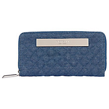 Buy Fiorelli Holloway Quilted Zip Around Purse Online at johnlewis.com