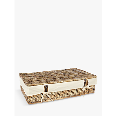 Croft Collection Willow Under Bed Lined Storage