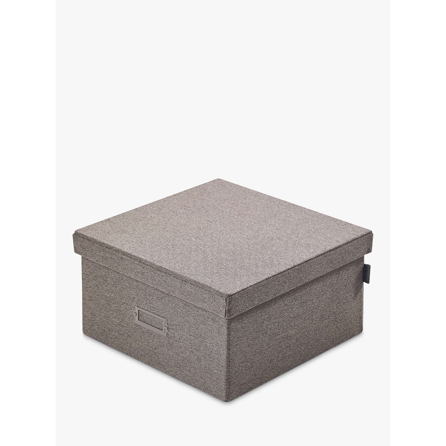 Kvell Stax Storage Box Small Grey Mid At Johnlewis Com