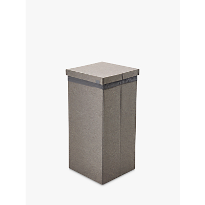 Kvell Stax Laundry Bin, Grey Mid