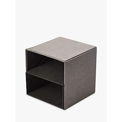 Kvell Stax Storage Cube, Small, Grey Mid
