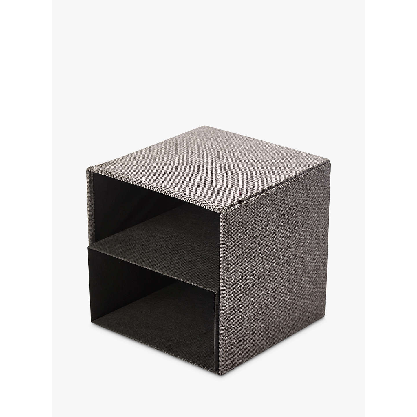 Kvell Stax Storage Cube Small Grey Mid At Johnlewis Com