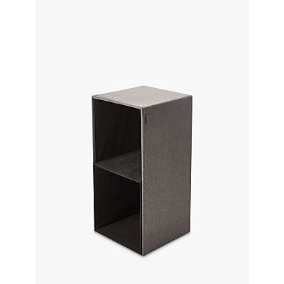 Kvell Stax Storage Cube, Large, Grey Mid