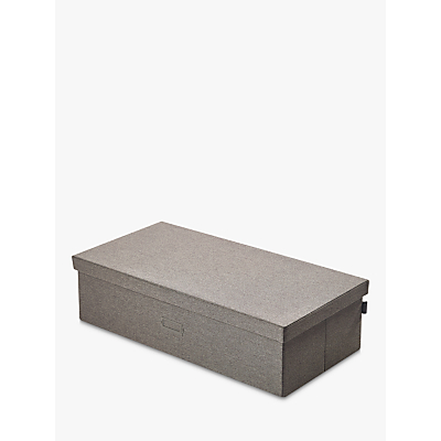 Kvell Stax Storage Box, Large, Grey Mid
