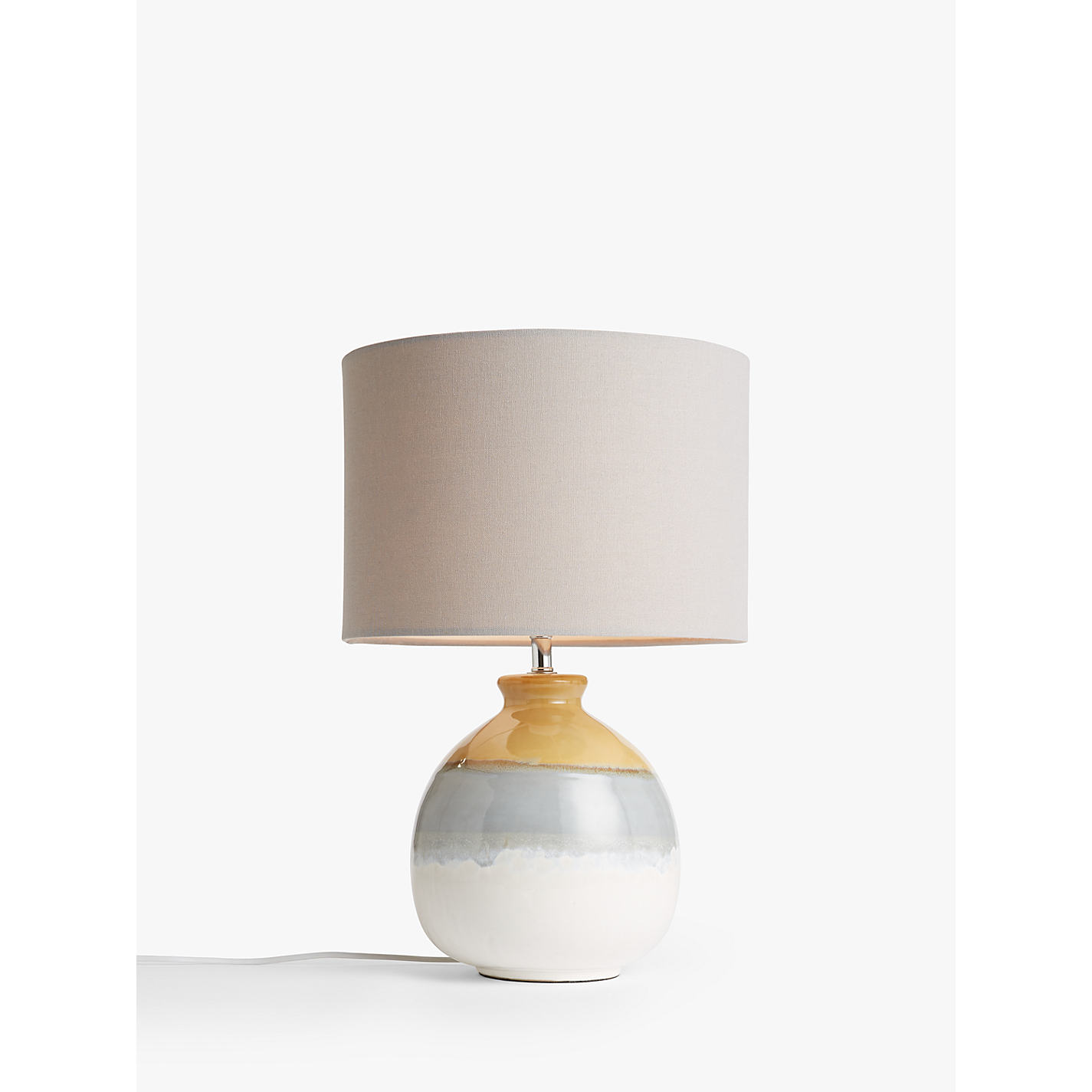 Buy john lewis martha stripe ceramic table lamp john lewis buy john lewis martha stripe ceramic table lamp online at johnlewis mozeypictures Choice Image