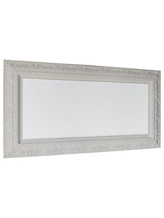 Versaille Ornate Mirror, 180 x 94cm, White