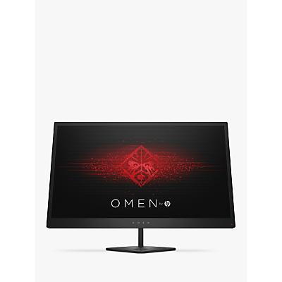 HP Omen 25 Full HD Gaming Monitor, 24.5, Jack Black