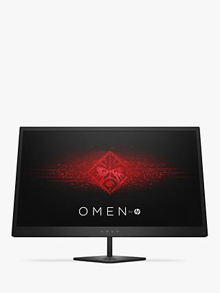 "HP Omen 25 Full HD Gaming Monitor, 24.5"", Jack Black"