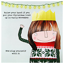 Buy Rosie Made A Thing Christmas Slap Card Online at johnlewis.com