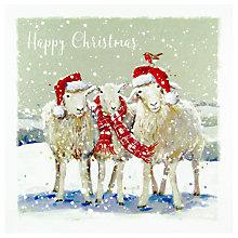 Buy Ling Designs Winter Woolies Christmas Card Online at johnlewis.com