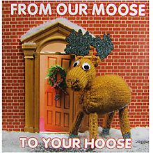 Buy Mint From Our Moose Christmas Card Online at johnlewis.com