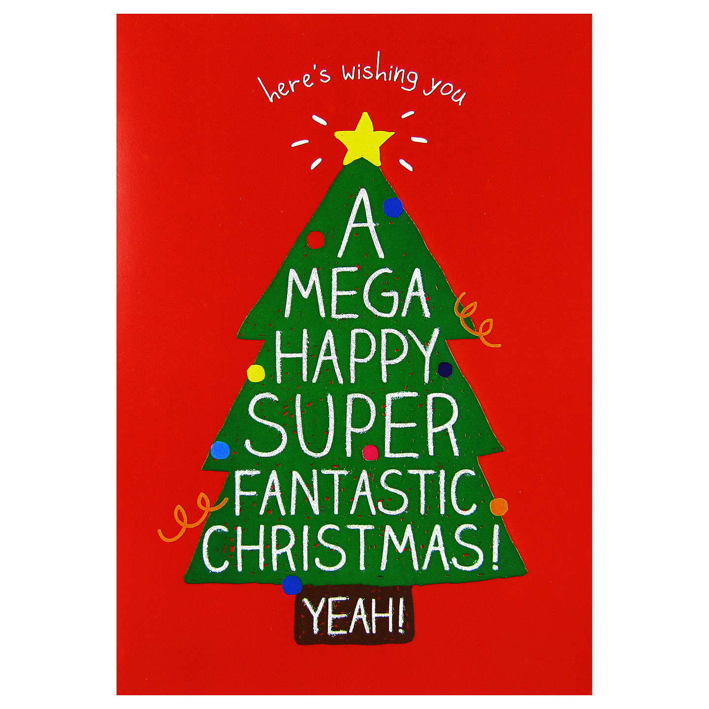 Buyhappy Jackson Christmas Tree Card Online At Johnlewiscom