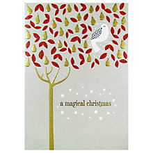 Buy Art File Partridge In Pear Tree Christmas Card Online at johnlewis.com